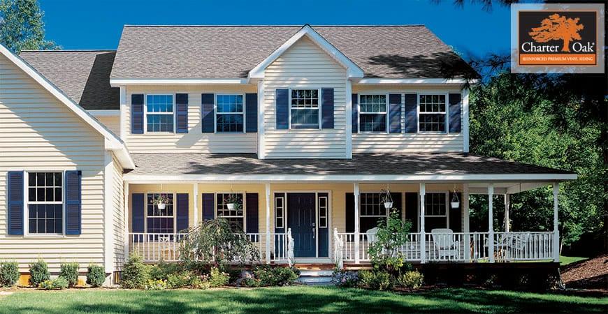 Chattanooga's Charter Oak Vinyl Siding Installation Contractors Window Works & Exteriors of Chattanooga
